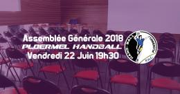 Assemblée Générale 2018 le 22 juin 1