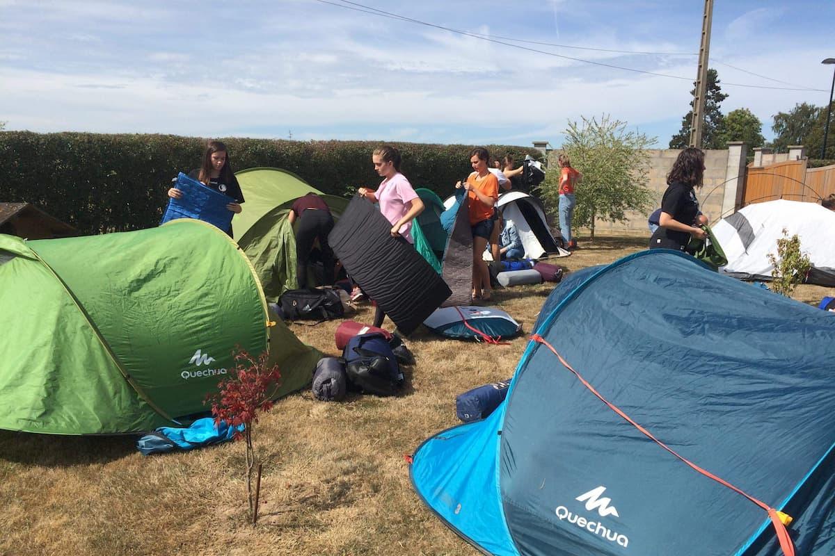 -18F Campement Normandie 30 Août 2019