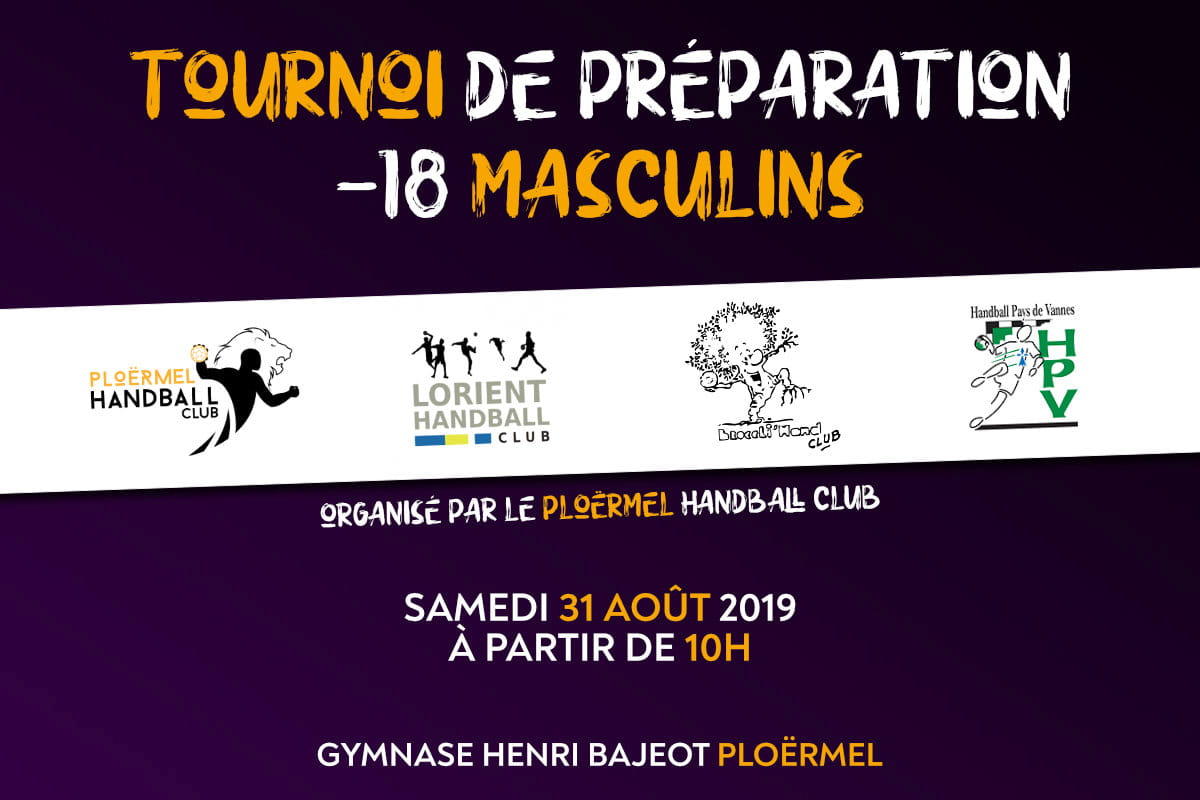 Tournoi Prépa -18M 31 Août 2019