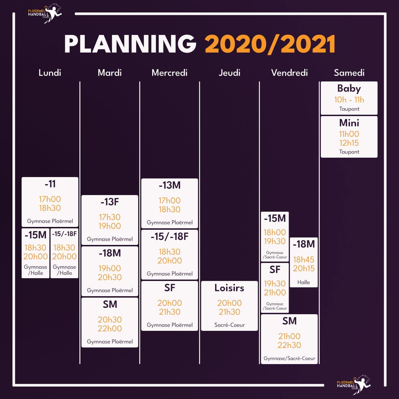 Reprise des entraînements 2020/2021 17