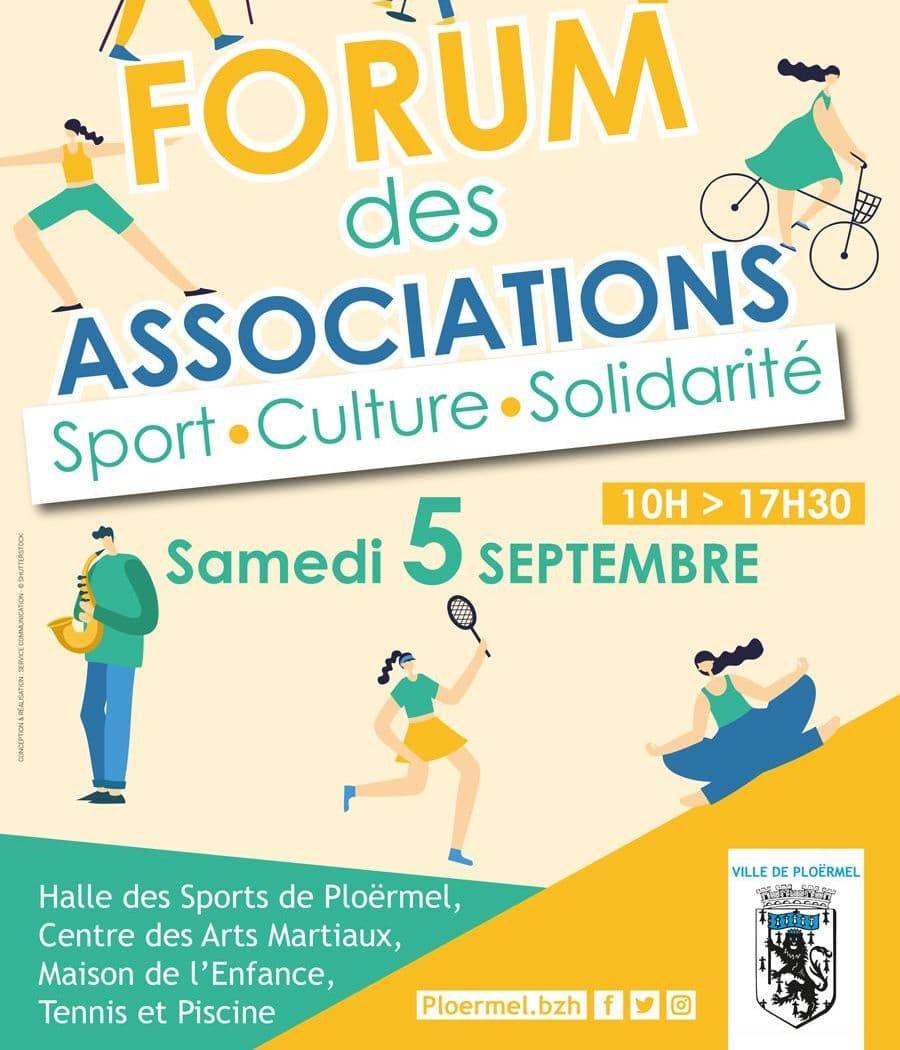 Forum des Asso à Ploërmel le 05 septembre 2020 16