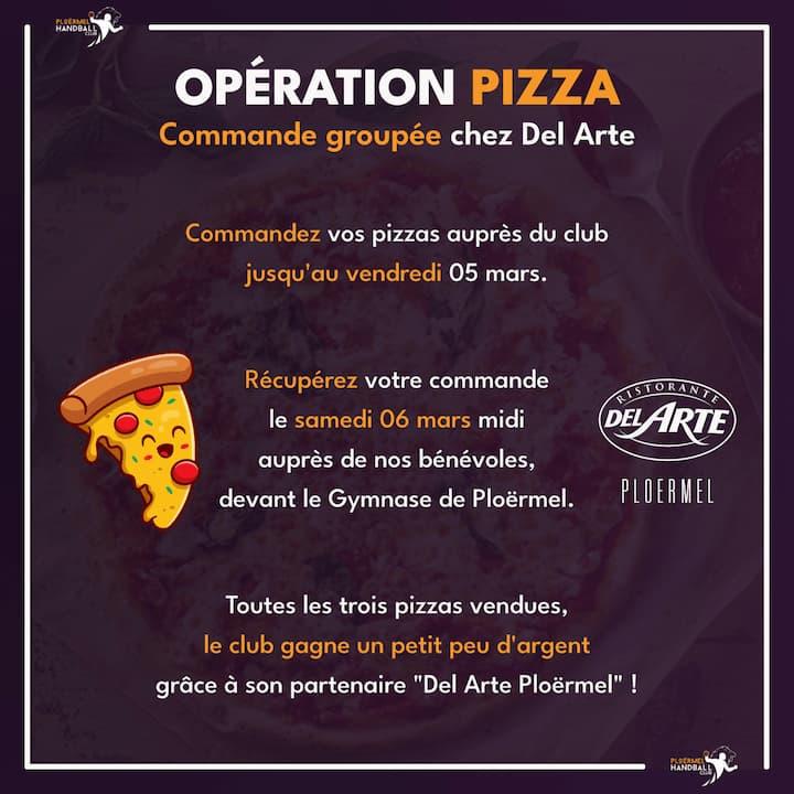 Opération Pizza avec Del Arte 2