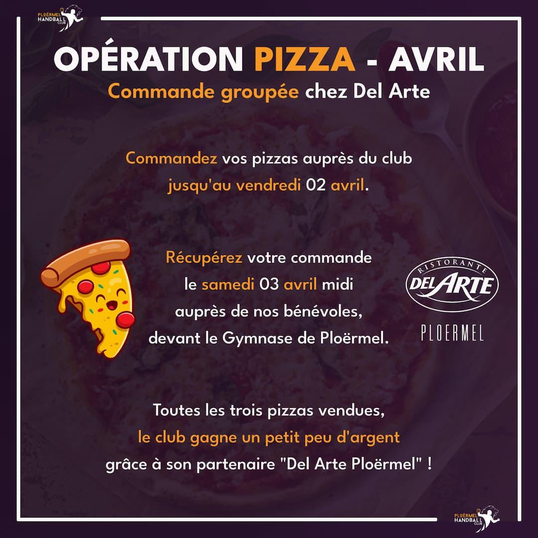 Opération Pizza avec Del Arte - Avril 2021 1