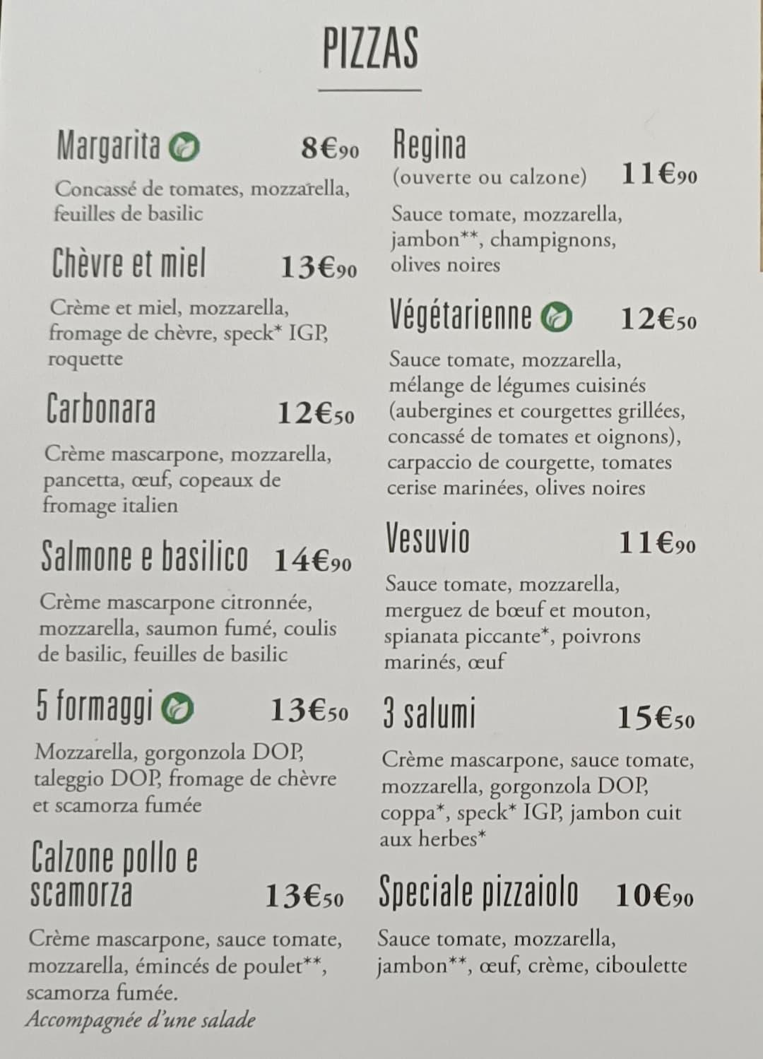 Opération Pizza avec Del Arte - Juin 2021 2