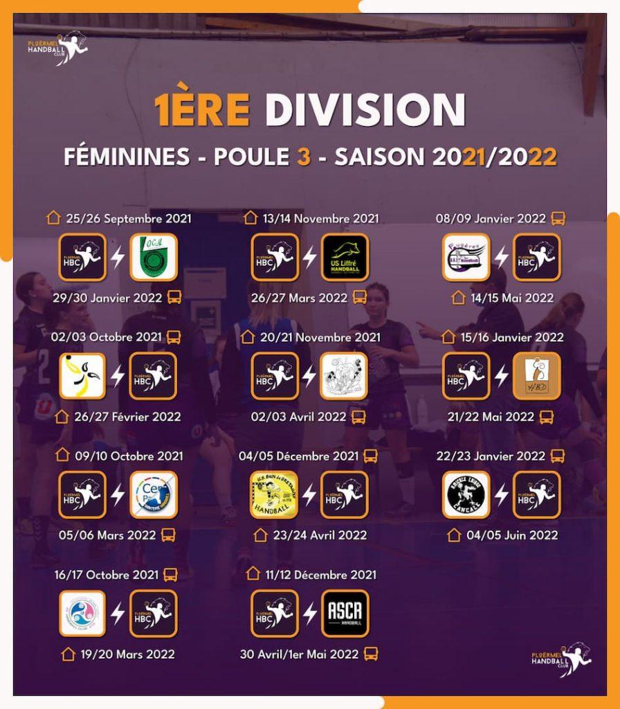 Championnat 2021/2022 des Seniors F 2