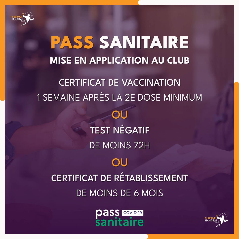 Application du Pass Sanitaire 6