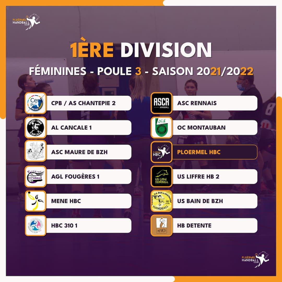 Championnat 2021/2022 des Seniors F 4