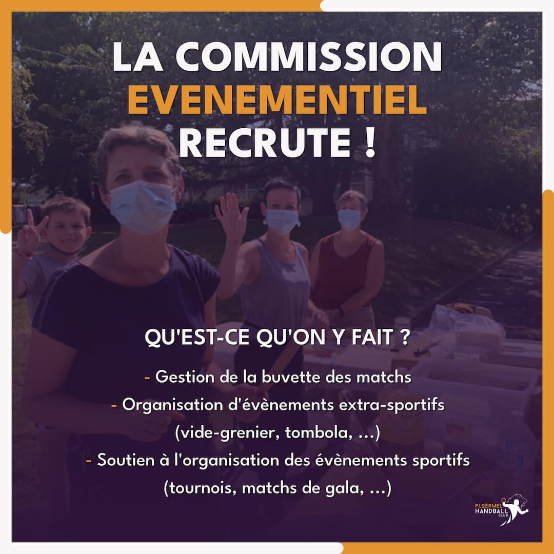 La Commission Événementiel recrute ! 14